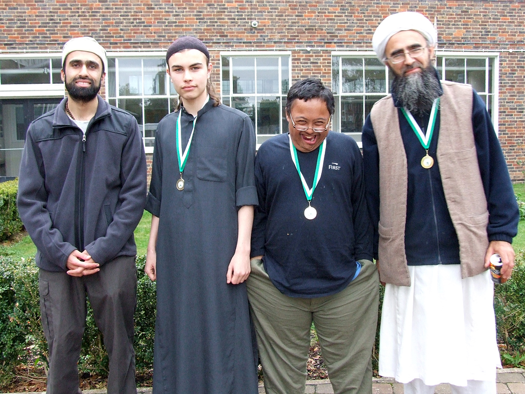Winners inc Abdul Rahim (Gold) and Mahdi (Under 18 Gold)